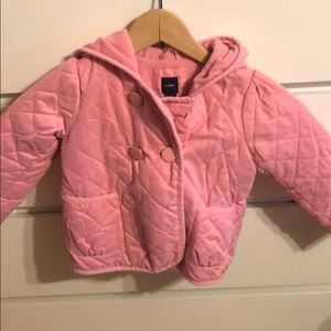 Quilted toddlers jacket